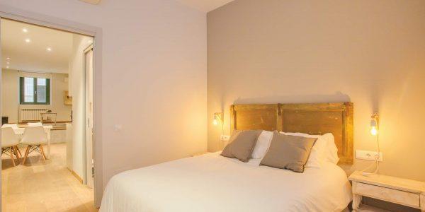 HOliday Apartment, Girona, Forca 2-2, Bedroom